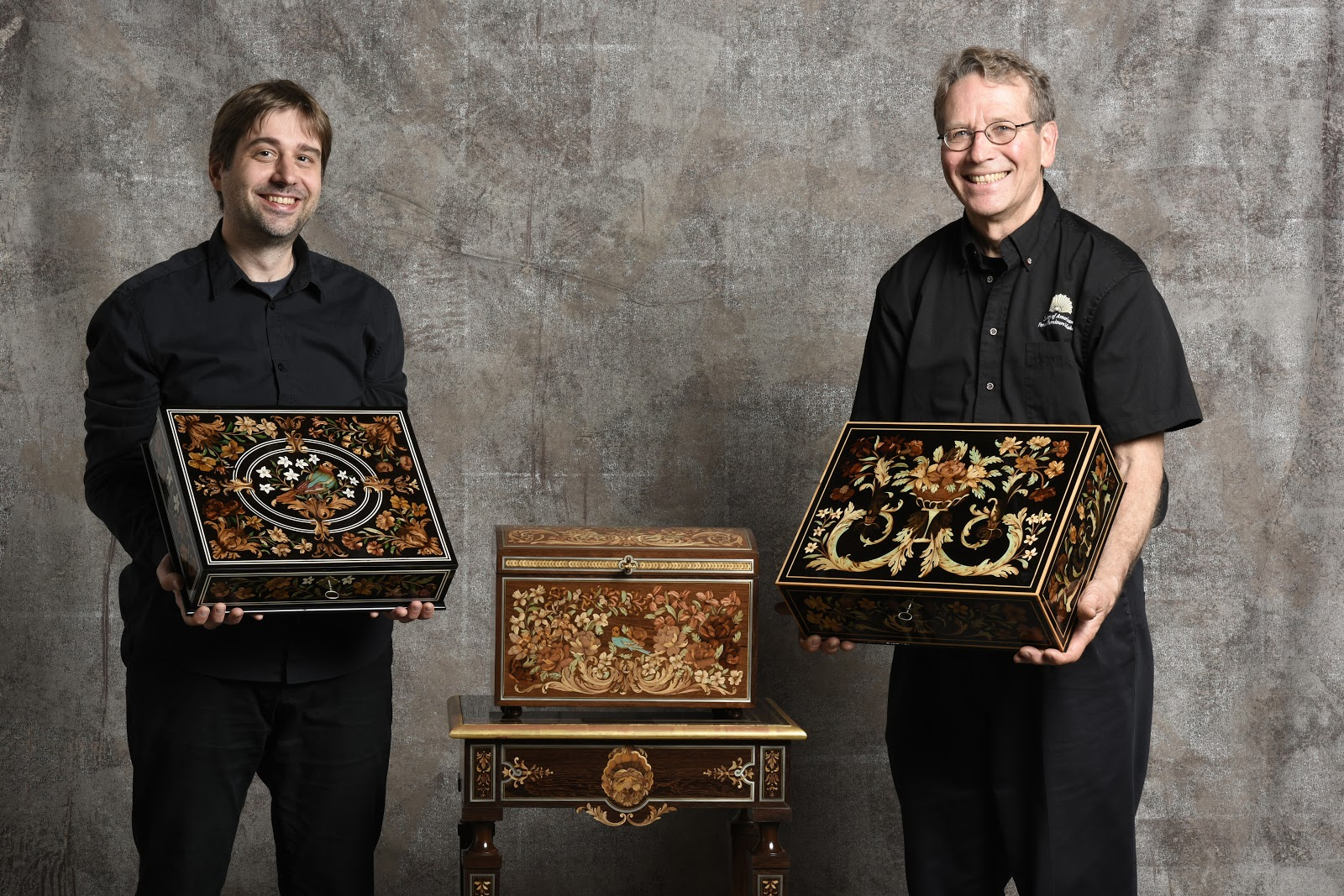 Edwards and Lejeune treasure boxes I II III